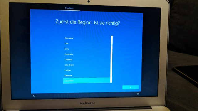 Windows 10 to go setup