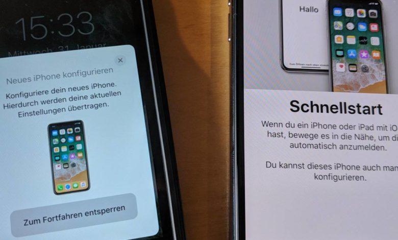 Bild von Anleitung: Neues iPhone oder iPad schneller einrichten