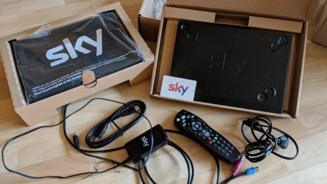 Sky-Retoure Karton