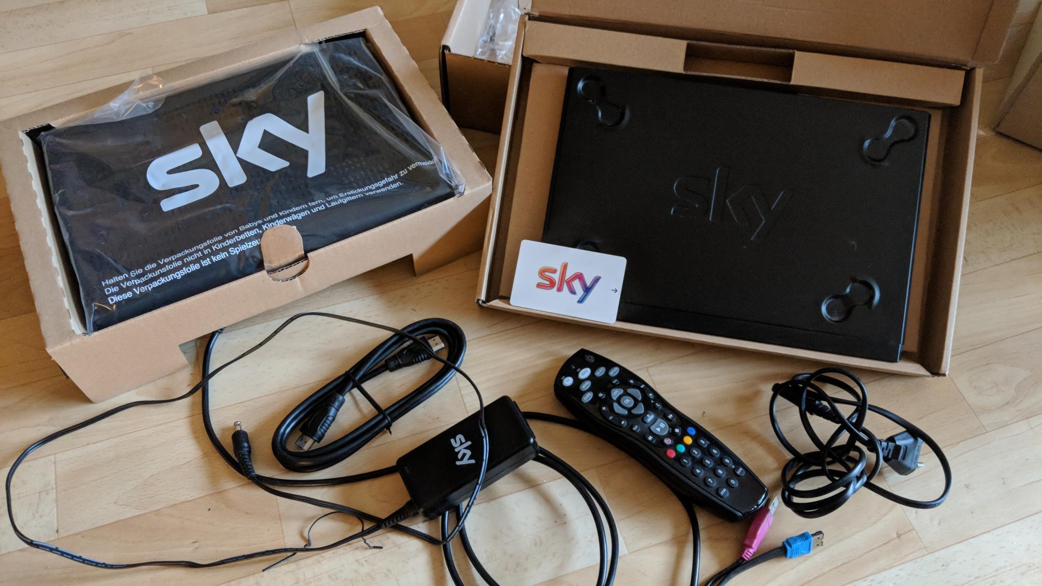 Rücksendung Sky Receiver Nach Kündigung