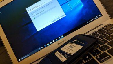 Windows 10 Mac SSD