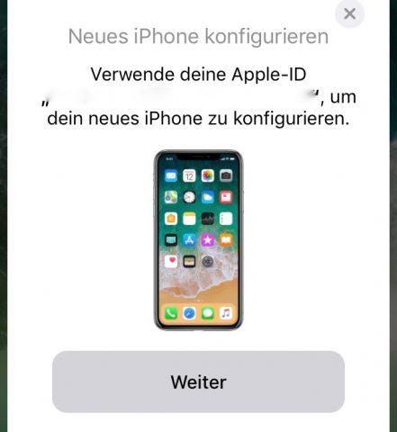 iPhone einrichten iOS 11