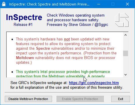 Spectre Attack Bios-Update