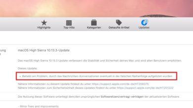 Bild von macOS: Update schützt gegen Meltdown – was Apple aber nicht verrät