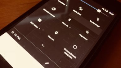 Bild von Android: Schnellzugriffe bearbeiten