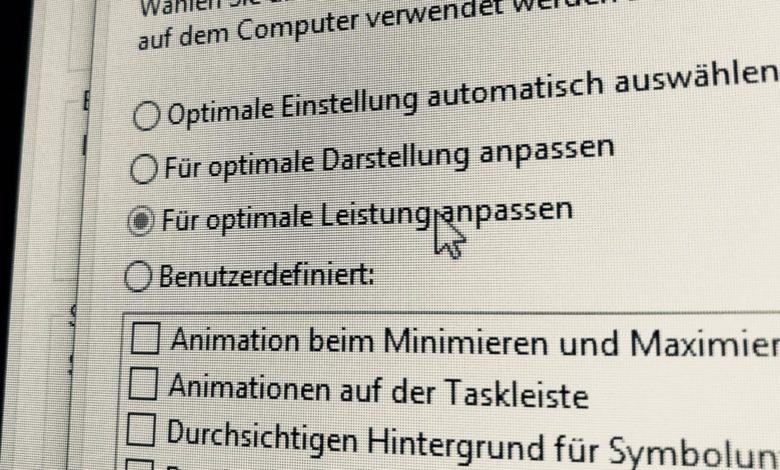 Windows 10 beschleunigen