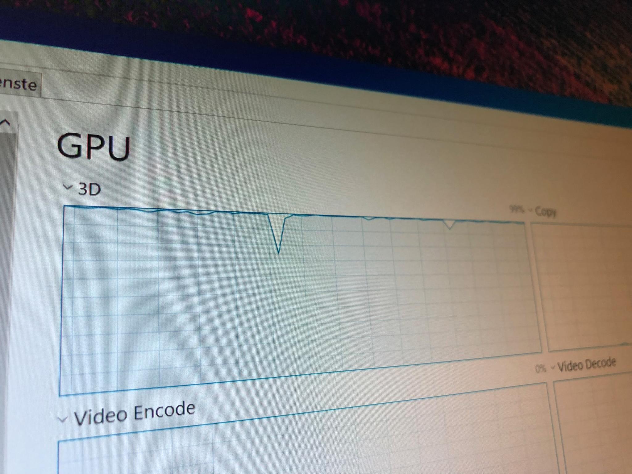 GPU-Auslastung Windows 10