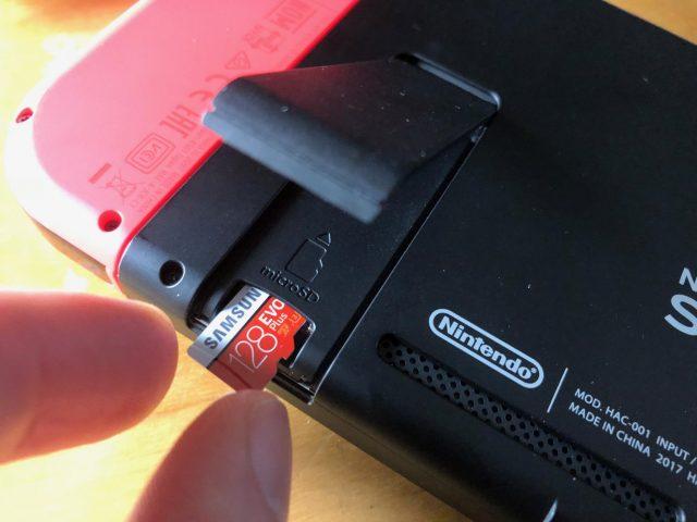 Nintendo Switch microSD-Karte