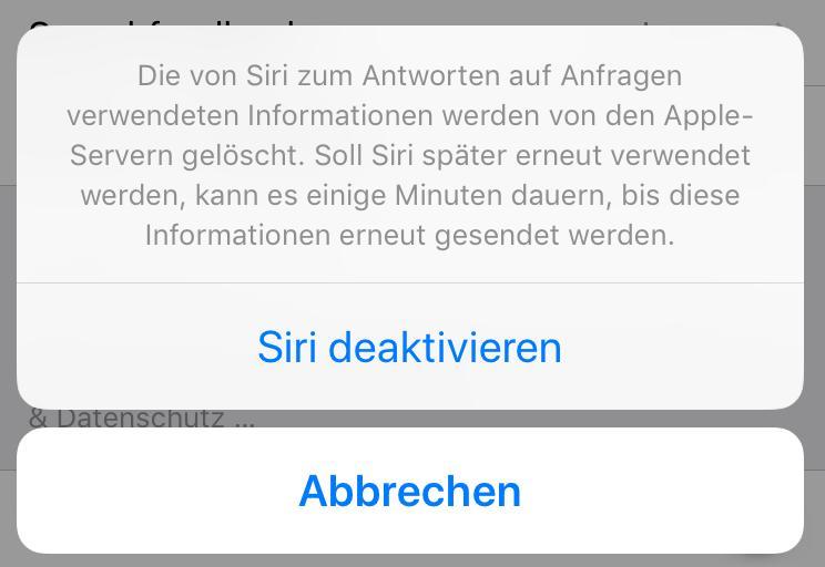Siri: AUS!