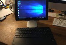 iMac Pro Mini auf Chuwi-Basis. Spaß beiseite: Das Tablet gibt nach der Android-Amputation einen guten, kleinen Windows-PC ab.