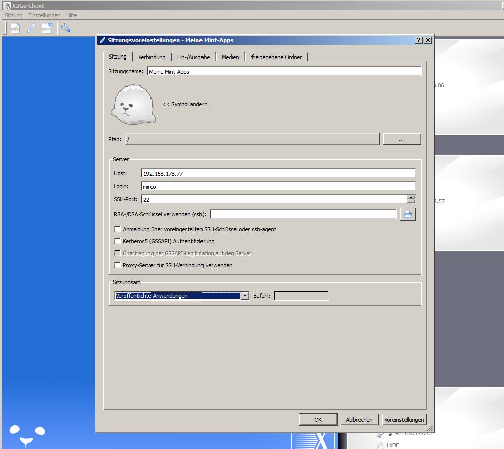 application server x2go