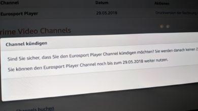 Bild von Anleitung: Eurosport Player kündigen