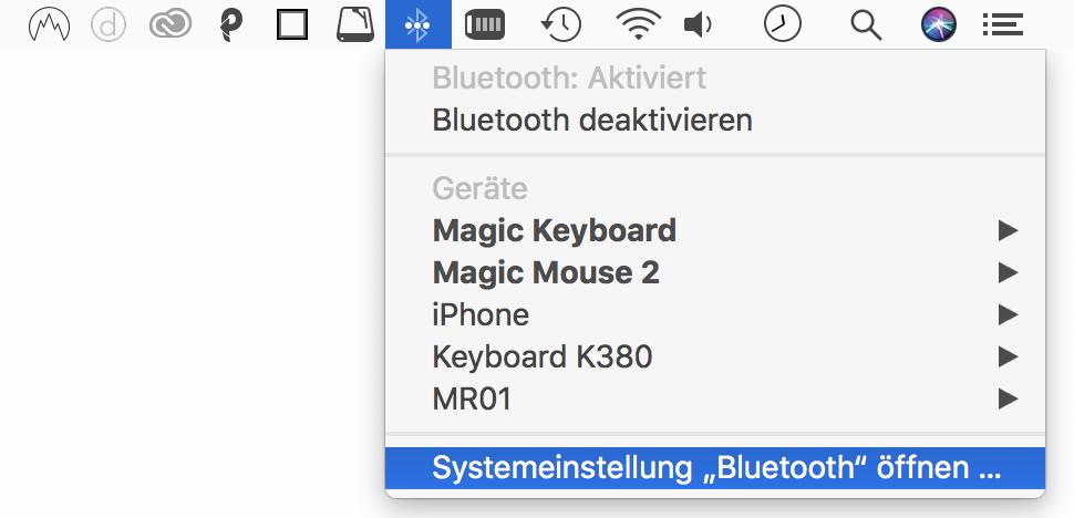 Wenn der Apple Pencil nicht auftaucht, müsst Ihr Euer System neu starten.