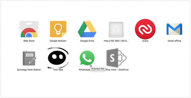 Chrome Apps macOS