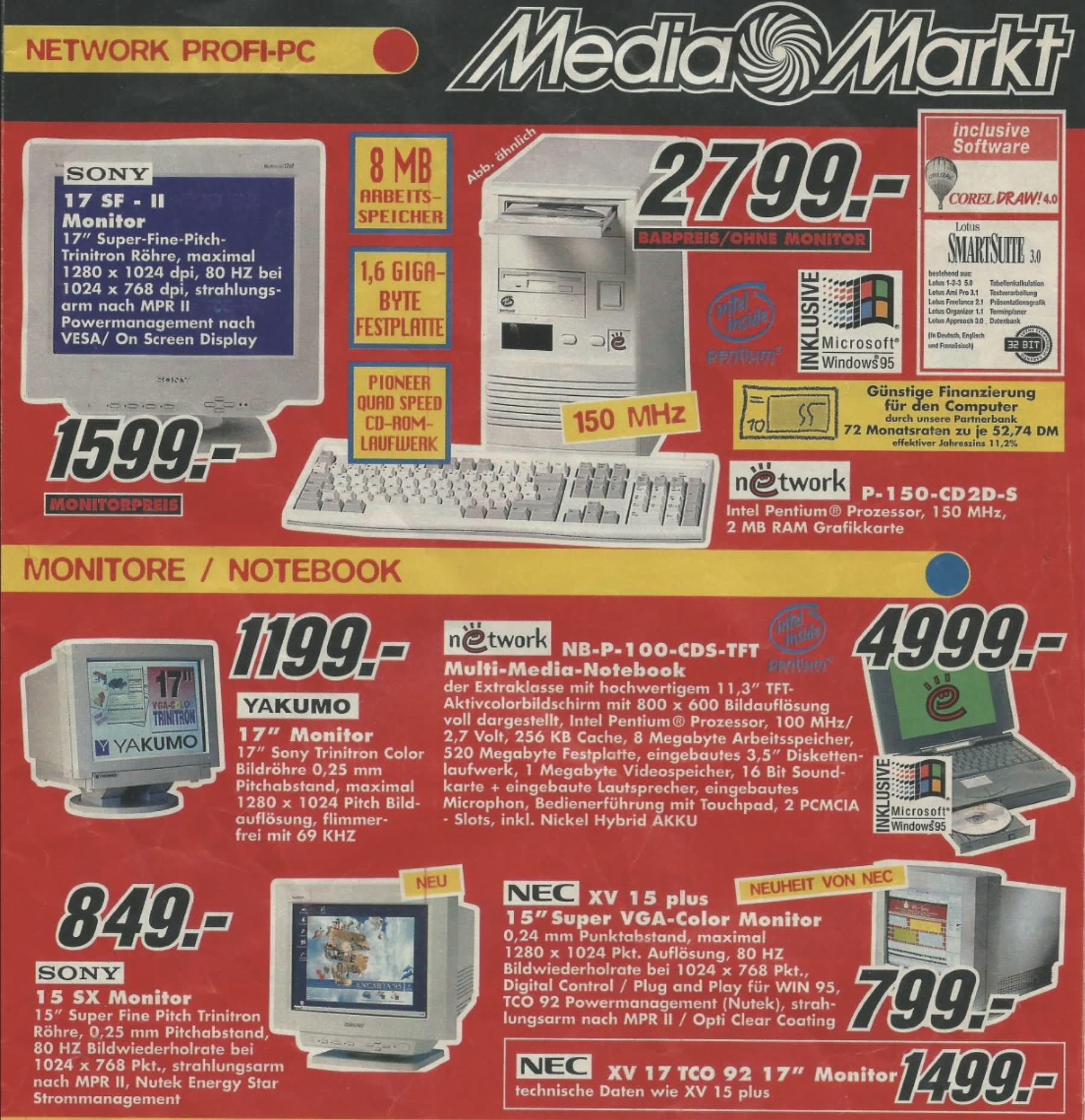 Media-Markt-Prospekt: Ich bin doch nicht blöd!
