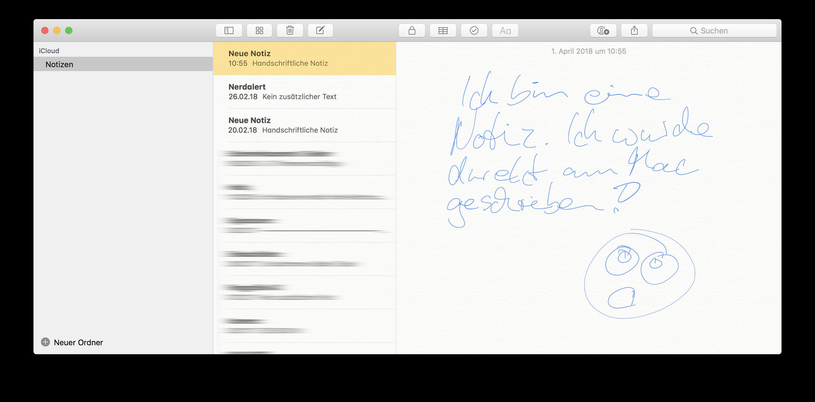 Apple Pencil am Mac: Direkt unter Mac OS zeichnen.