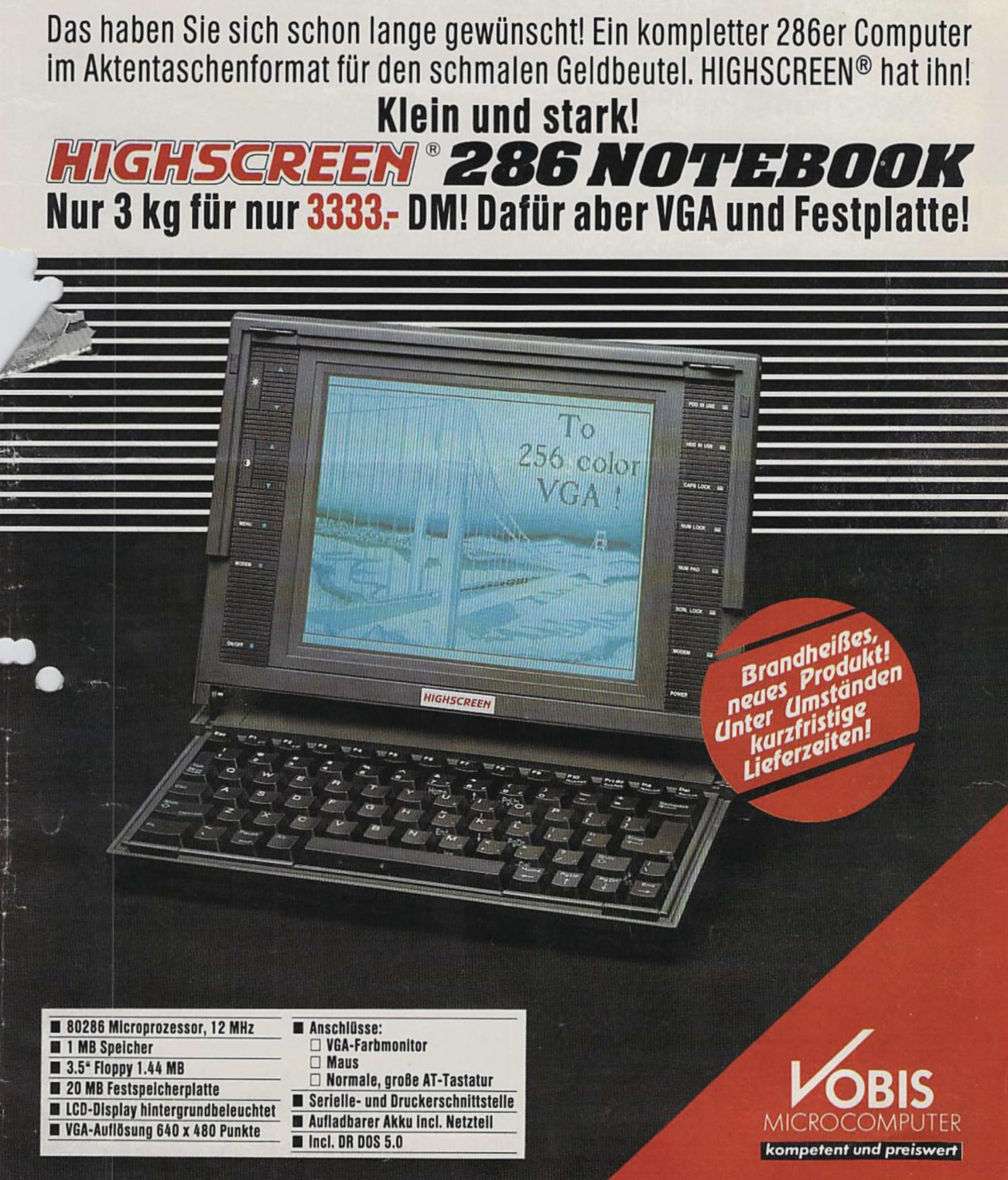 Sieht aus wie ein iPad mit Keyboard, oder?