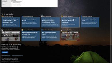 Bild von Windows 10: Zeitachse alias Timeline nutzen oder deaktivieren