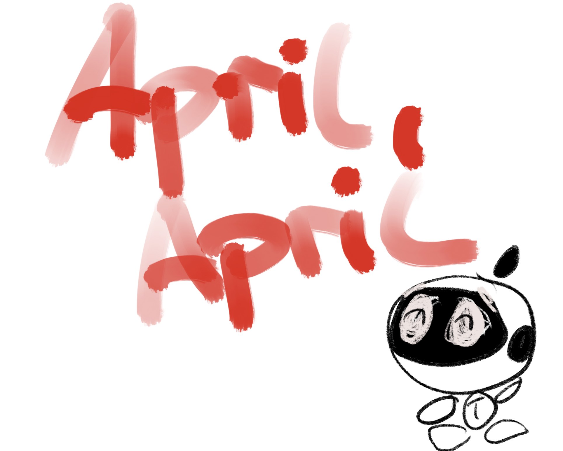 APRIL APRIL!