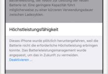 Bild von iPhone: Akku-Status überprüfen und Drosselung stoppen