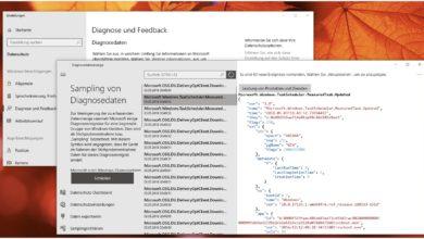 Bild von Anleitung: Sehen, welche Diagnosedaten Windows 10 an Microsoft sendet