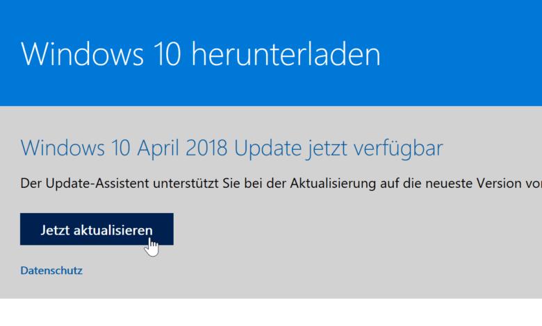 Windows 10 Update Download