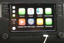 Bild von Apple CarPlay für kleines Geld im VW nachrüsten