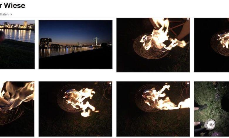 iCloud-Fotos können mächtig Platz sparen.