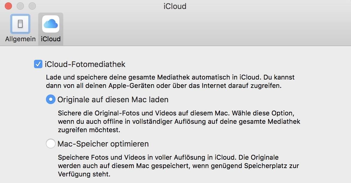Mit der iCloud-Mediathek synchronisiert Ihr Fotos über alle Apple-Geräte hinweg.