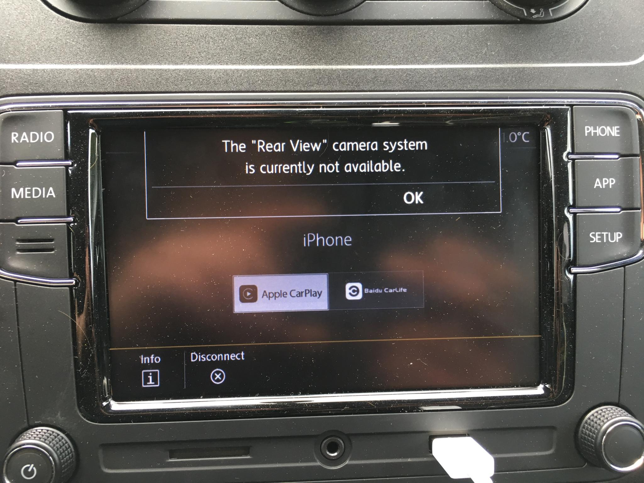 apple carplay f r kleines geld im vw nachr sten der tutonaut. Black Bedroom Furniture Sets. Home Design Ideas
