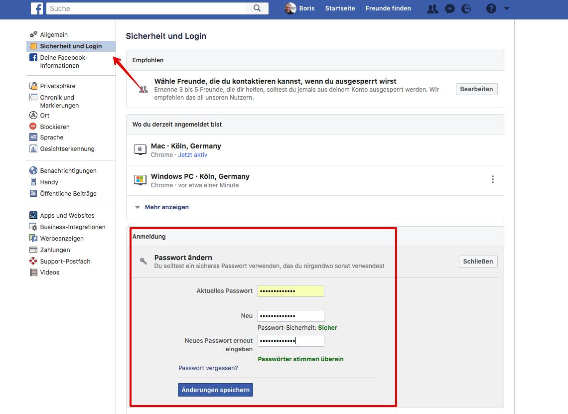 Facebook Einstellungen Zurücksetzen