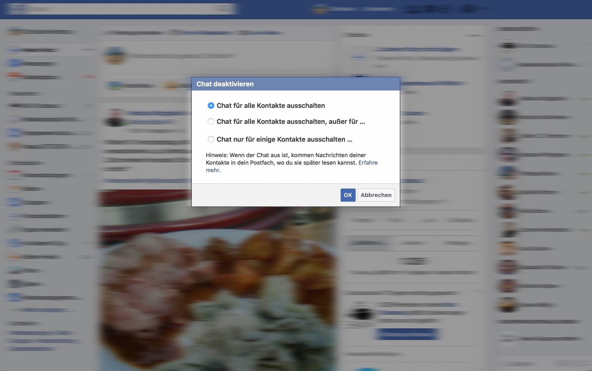 So leicht könnt Ihr den Facebook-Messenger deaktivieren.