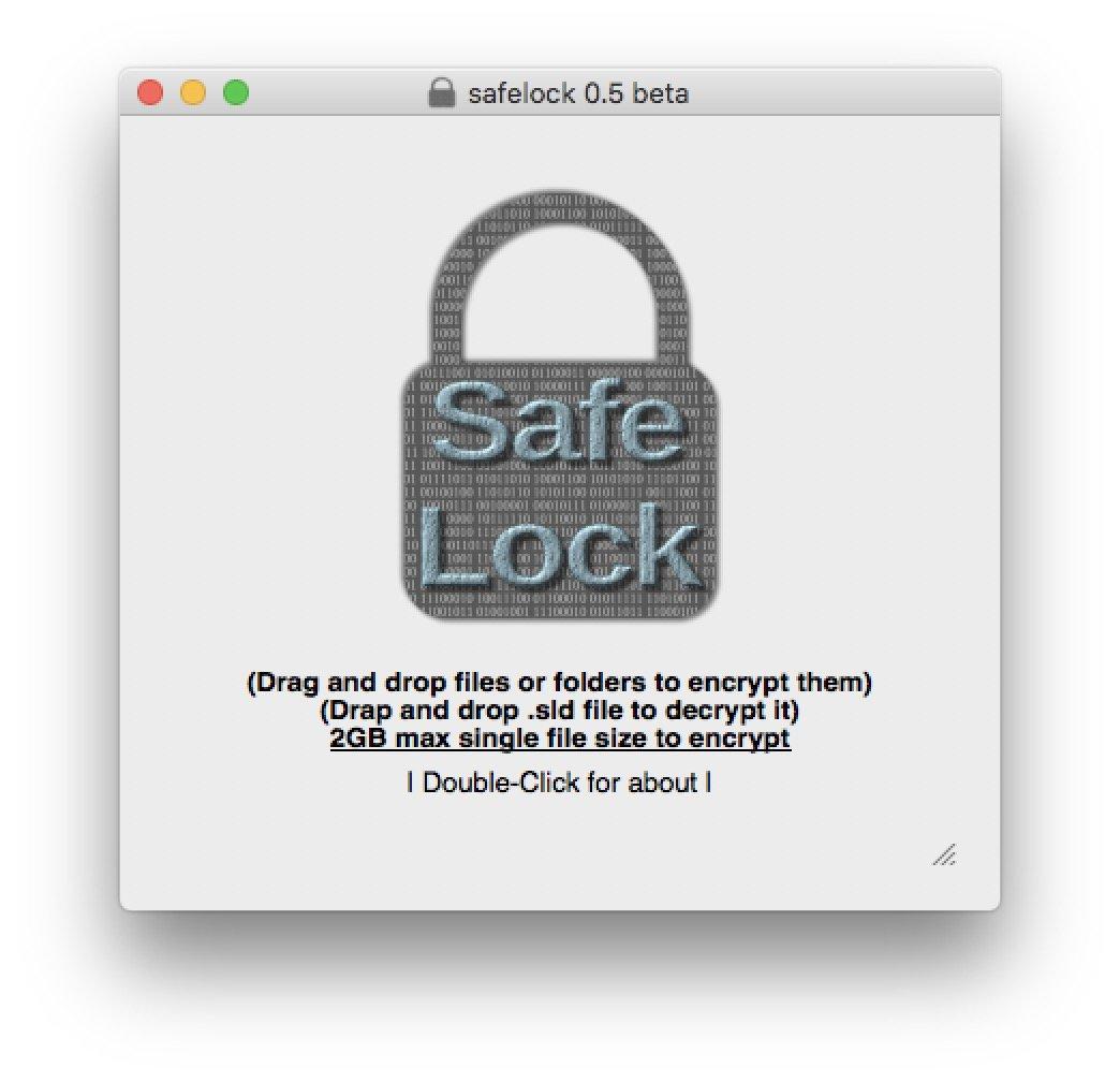 Das Tool Safelock sorgt für einfache Ver- und Entschlüsselung  zum Datentransport.