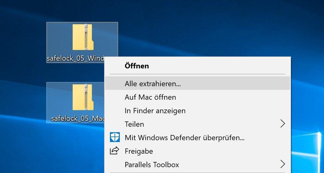 Extrahiert die beiden ZIPs und kopiert den Inhalt auf Euren USB-Stick.
