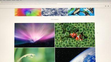 Bild von Mac und iOS: Hintergrundbilder aus ALLEN Versionen herunterladen