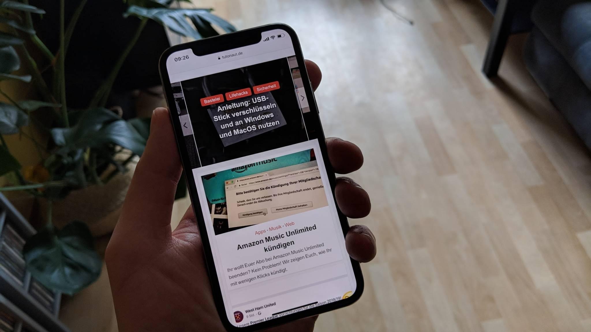 iPhone X: 12 praktische Tipps zum Edel-iPhone - Der Tutonaut