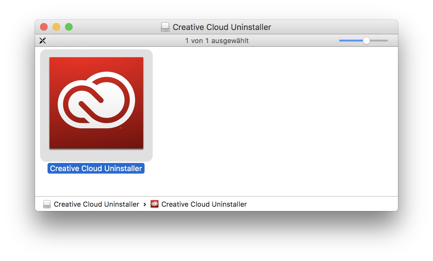 Der Creative-Cloud-Uninstaller kann kostenlos von der Adobe-Website geladen werden.
