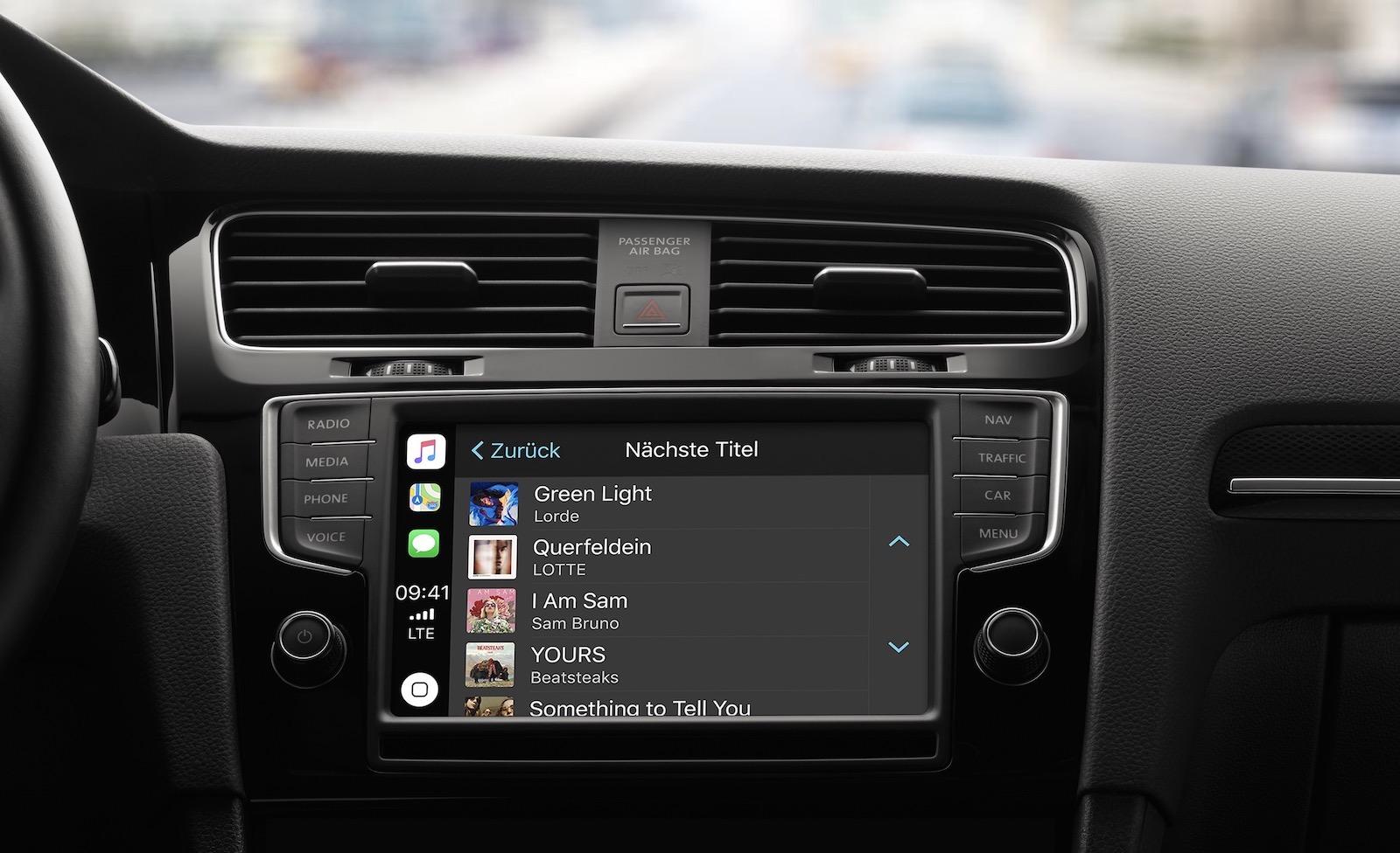 Wenn Carplay schlecht klingt, kann das verschiedene Ursachen haben (Bild: Apple.de)