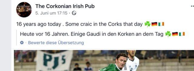 Facebook Übersetzungen Celtic