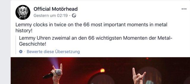Motörhead Übersetzung
