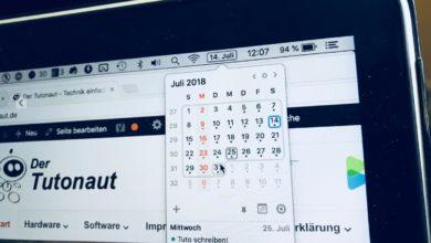 Bild von Mac-Kalender mit Gratis-Tool verbessern