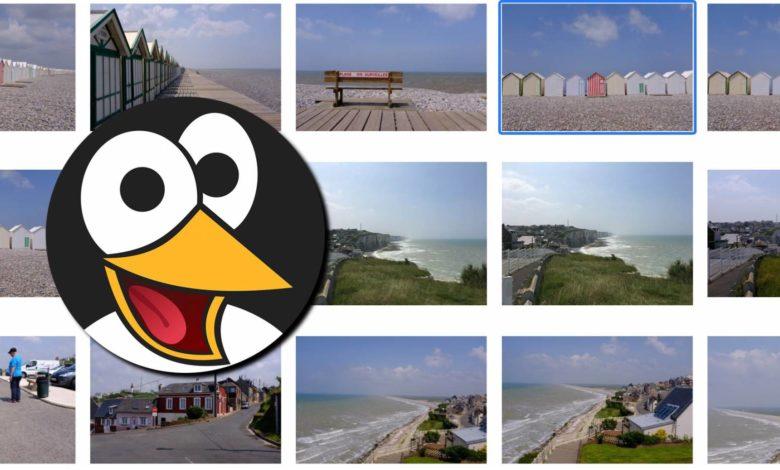 Linux-Bilder-Teaser (Bildquelle: Christian Rentrop. Clipart: OpenClipart/Pixabay)