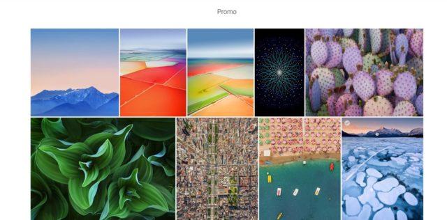 iPhone Hintergrundbilder (Quelle: Apple)