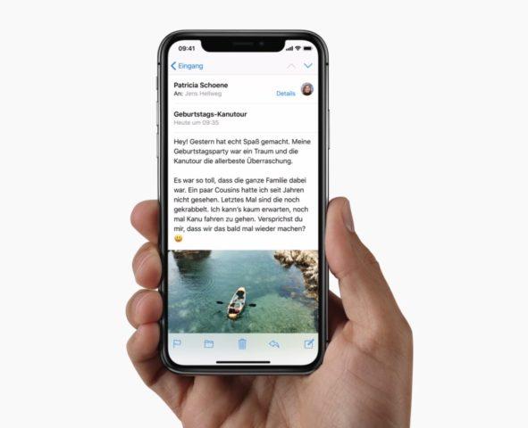 iPhone X (Quelle: Apple.de)