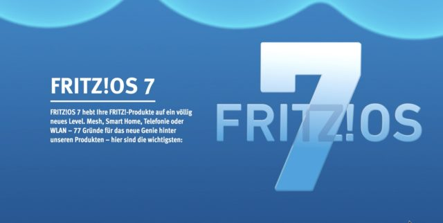 FritzOS 7 Update