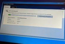 Windows Defender Viren Start