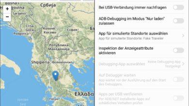 Bild von Anleitung: Location unter Android faken