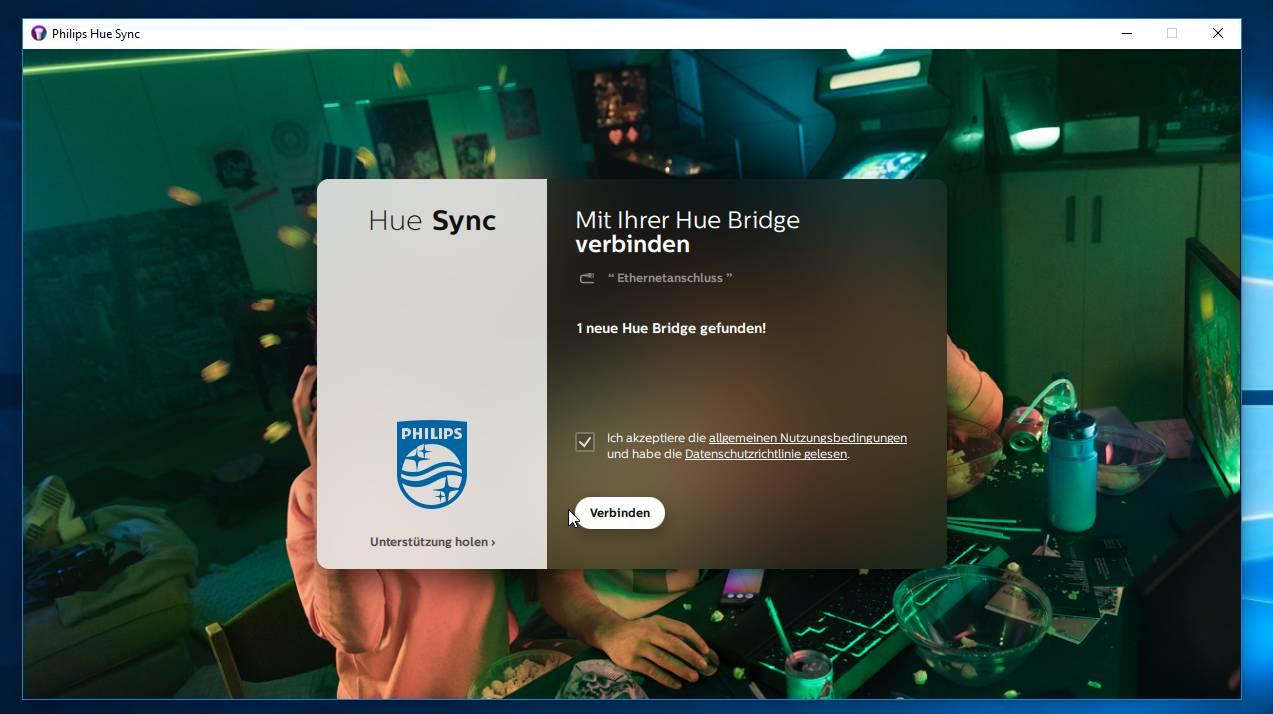 Anleitung: Philips Hue unter Windows steuern Ambilight für