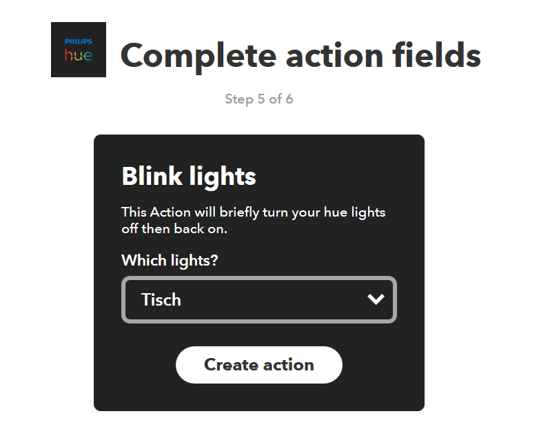 philips hue ifttt gmail