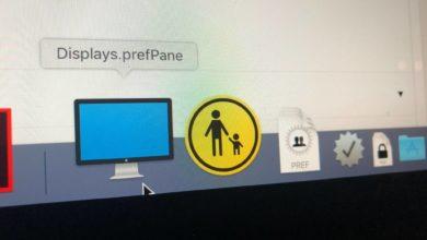 Bild von MacOS-Systemeinstellungen direkt über das Dock aufrufen